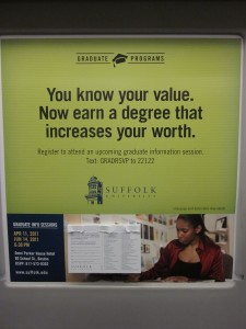 Meritocratische logica in de metro van Boston